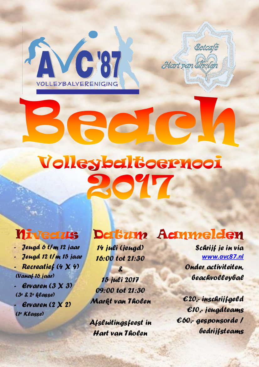 Beachvolleybal 2017